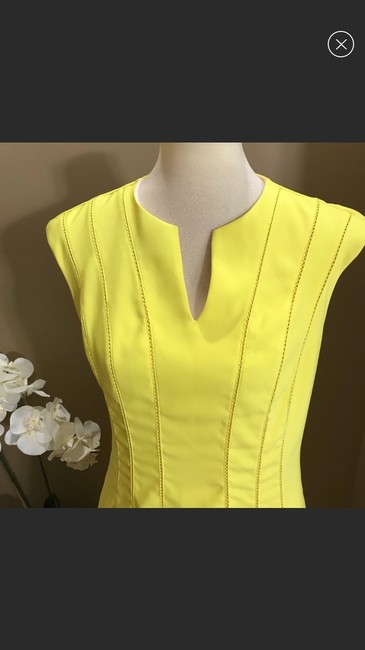 Ted Baker short dress yellow on Tradesy Image 3