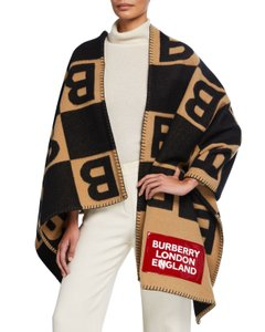 Burberry Scarf Wrap Trench Cape