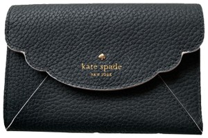 Kate Spade New Kate Spade Leewood Place Pebble Leather Medium Wallet Black