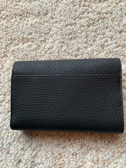 Kate Spade New Kate Spade Leewood Place Pebble Leather Medium Wallet Black Image 2