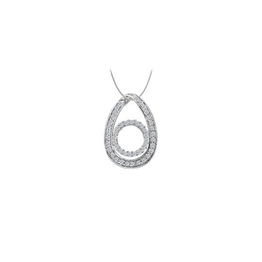 Preload https://img-static.tradesy.com/item/25994881/white-cubic-zirconia-tear-drop-pendant-in-14k-gold-050-ct-tgwperfect-necklace-0-0-540-540.jpg