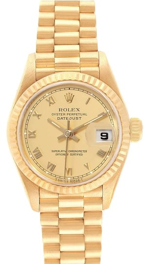 Preload https://img-static.tradesy.com/item/25994972/rolex-champagne-box-president-datejust-26-yellow-gold-ladies-69178-papers-watch-0-1-540-540.jpg