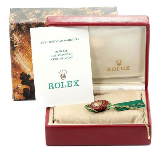 Rolex Rolex President Datejust 26 Yellow Gold Ladies Watch 69178 Box Papers Image 10