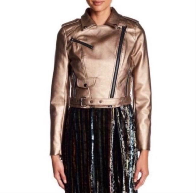 Romeo & Juliet Couture Leather Jacket Image 3