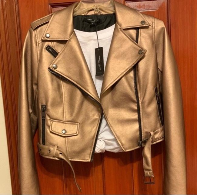 Romeo & Juliet Couture Leather Jacket Image 4