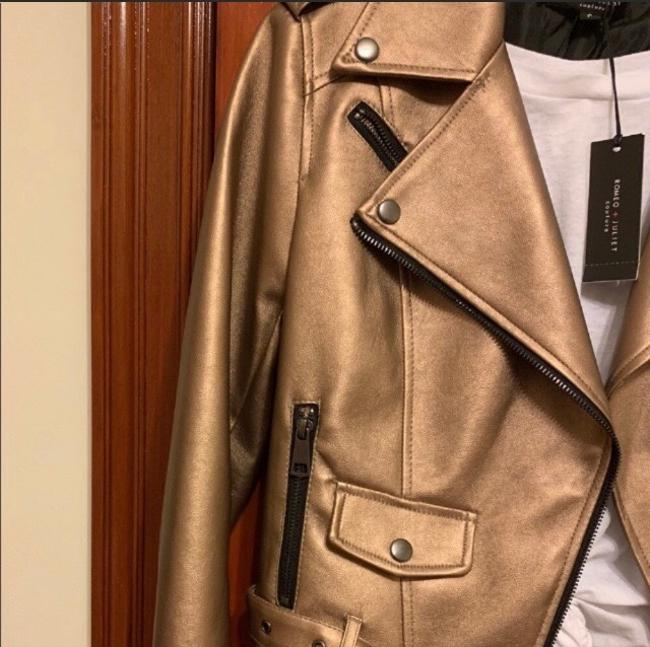Romeo & Juliet Couture Leather Jacket Image 5