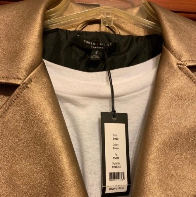Romeo & Juliet Couture Leather Jacket Image 7