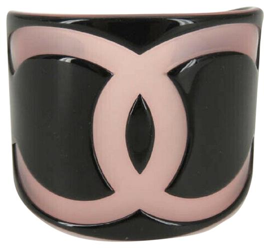 Preload https://img-static.tradesy.com/item/25995211/chanel-01p-cc-black-pink-plastic-bangle-0-1-540-540.jpg