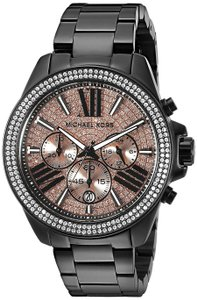 Michael Kors Wren Stainless Rose Gold Pave Crystal Glitz Mk5879