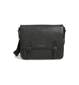 Burberry Briefcase Leather Cross Body Bag