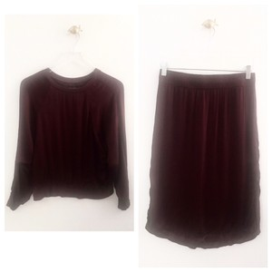 Enza Costa Skirt red