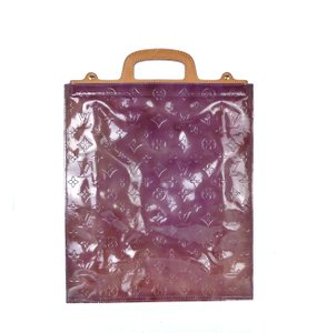 Louis Vuitton Patent Leather Monogram Tote in Purple