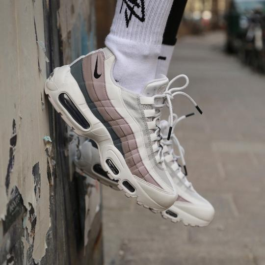 pas mal 07fb4 4de4d Nike Grey Women's Air Max 95 Vast Design with Premium Materials For An  Elevated Look. Style/Color: 307960-022 Sneakers Size US 9.5 Narrow (Aa, N)  32% ...