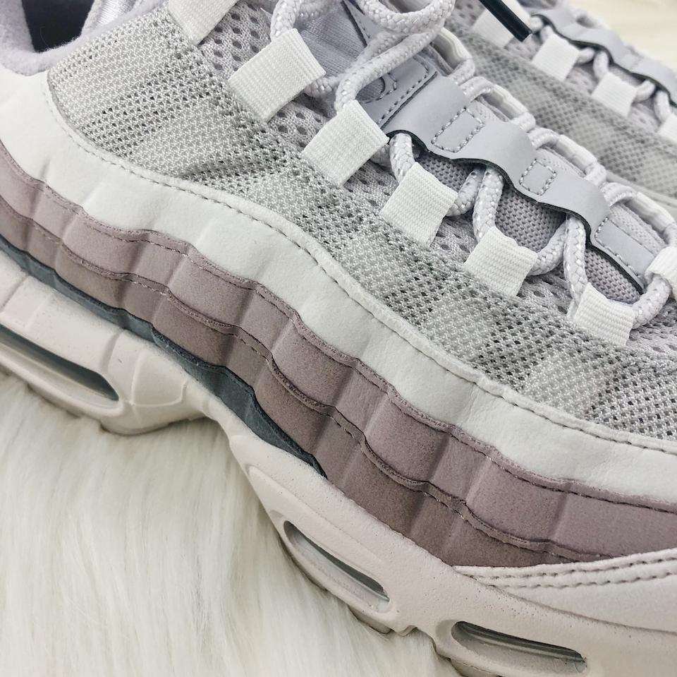 Nike Grey Women's Air Max 95 Vast Design with Premium Materials For An Elevated Look. StyleColor: 307960 022 Sneakers Size US 9.5 Narrow (Aa, N) 32%