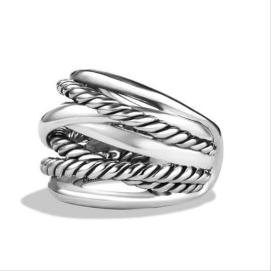 David Yurman GORGEOUS!! David Yurman Wide Crossover Ring Image 1