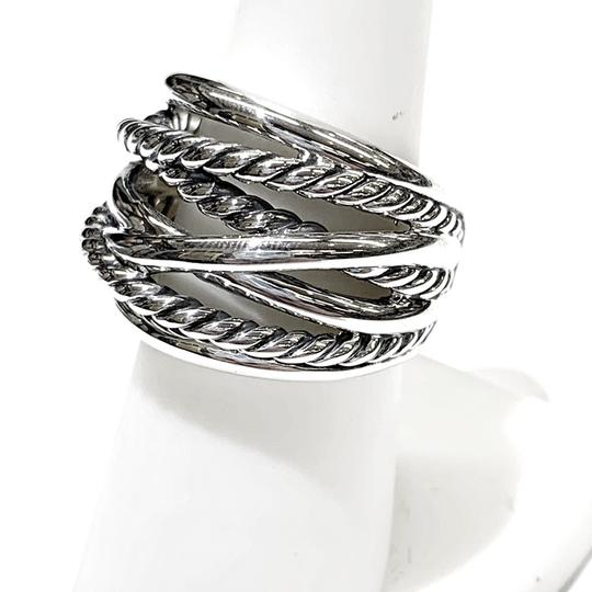 David Yurman GORGEOUS!! David Yurman Wide Crossover Ring Image 11
