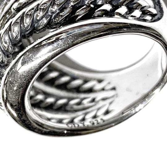 David Yurman GORGEOUS!! David Yurman Wide Crossover Ring Image 4