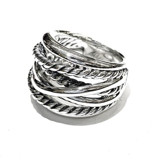 David Yurman GORGEOUS!! David Yurman Wide Crossover Ring Image 5