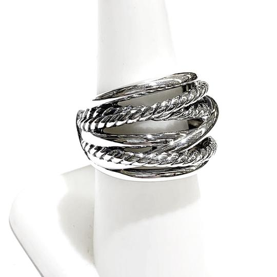 David Yurman GORGEOUS!! David Yurman Wide Crossover Ring Image 6