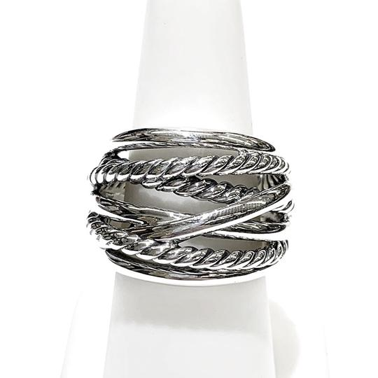 David Yurman GORGEOUS!! David Yurman Wide Crossover Ring Image 7