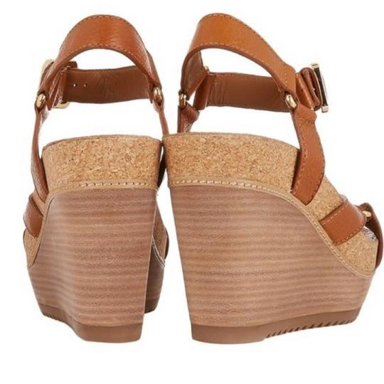Tory Burch New Cognac Wedges Image 2