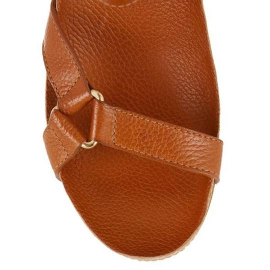 Tory Burch New Cognac Wedges Image 3