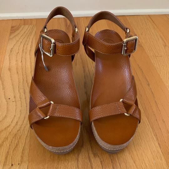 Tory Burch New Cognac Wedges Image 4