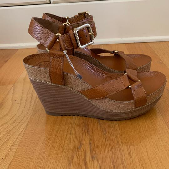 Tory Burch New Cognac Wedges Image 5