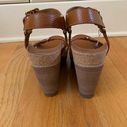Tory Burch New Cognac Wedges Image 6
