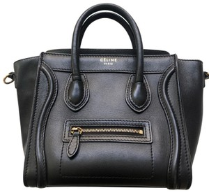 Céline Nanoluggage Luggage Smoothleather Cross Body Bag