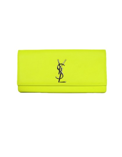Preload https://img-static.tradesy.com/item/25996817/saint-laurent-cassandre-neon-smooth-classic-monogram-yellow-leather-clutch-0-0-540-540.jpg