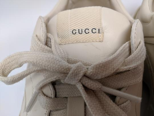 Gucci Rhyton Dad Sneakers Leather Trainers White Athletic Image 5