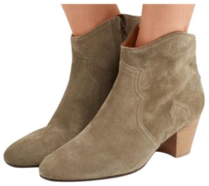 Isabel Marant Tan Suede Boots