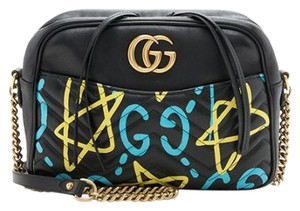 Gucci Gg Marmont Ghost Cross Body Bag