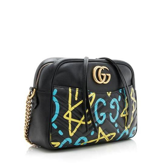 Gucci Gg Marmont Ghost Cross Body Bag Image 4
