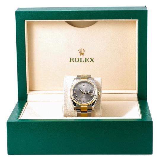 Rolex Rolex Datejust 116233 36MM Silver Dial With Two Tone Bracelet Image 5