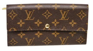 Louis Vuitton 493168 Monogram Sarah Wallet