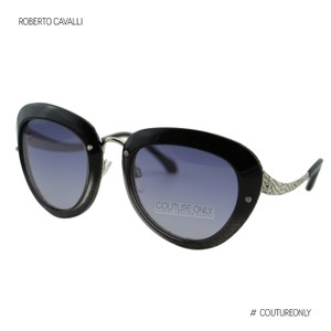 Roberto Cavalli New RC918S Nekkar Women Palladium Cat Eye Sunglasses 51mm