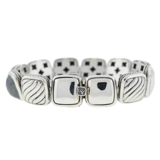 David Yurman David Yurman Chiclets One Row Diamond , Hematite ,Onyx Sterling Silver Image 2