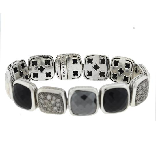 David Yurman David Yurman Chiclets One Row Diamond , Hematite ,Onyx Sterling Silver Image 4
