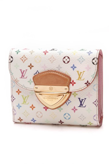 Preload https://img-static.tradesy.com/item/25997086/louis-vuitton-white-joey-multicolore-monogram-wallet-0-0-540-540.jpg