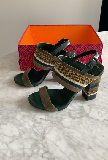 Tory Burch green multi Sandals Image 1