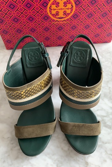 Tory Burch green multi Sandals Image 10