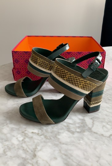 Tory Burch green multi Sandals Image 2