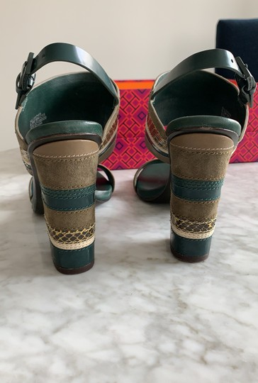 Tory Burch green multi Sandals Image 8