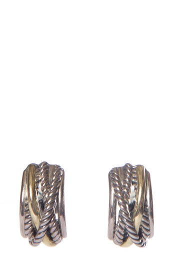 Preload https://img-static.tradesy.com/item/25997274/david-yurman-silver-sterling-14k-gold-earrings-0-0-540-540.jpg