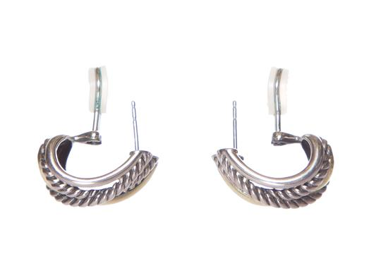 David Yurman DAVID YURMAN Sterling Silver & 14K Gold Earrings Image 2