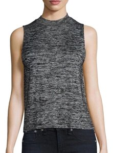 Rag & Bone Top Black & Grey