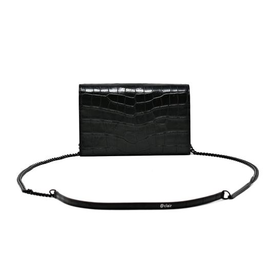 Saint Laurent Monogram Leather Cross Body Bag Image 2