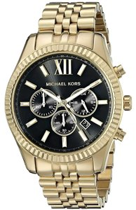 Michael Kors Michael Kors Men's Chronograph Lexington Gold-Tone Watch MK8286
